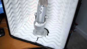 mini recording booth from tracker productions